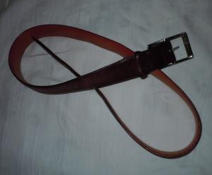 Leather belt gay discipline